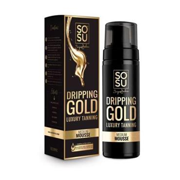 Dripping gold tan review