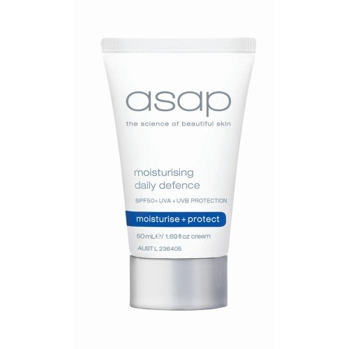 Moisturising daily defence spf 50 - 50ml (airport friendly)