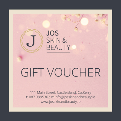 gift voucher jos skin and beauty